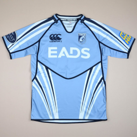Cardiff Blues 2000 Rugby Shirt (Excellent) L