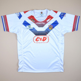 Wakefield Trinity Wildcats 2000 Rugby Shirt (Excellent) XXL