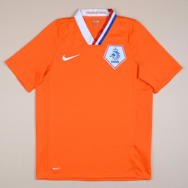 Holland 2008 - 2010 Home Shirt (Very good) S