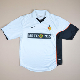 Valencia 2001 - 2002 Home Shirt (Very good) M