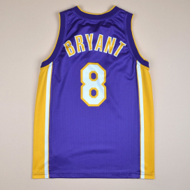 Los Angeles Lakers 2000 NBA Basketball Shirt #8 Bryant (Excellent) S