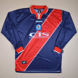 Blackburn 1999 - 2000 Third Shirt (Very good) XL
