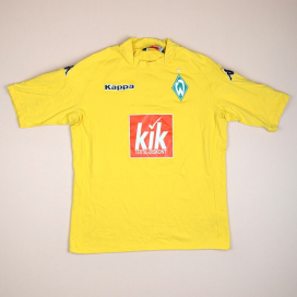 Werder Bremen 2005 - 2006 Goalkeeper Shirt (Excellent) XL