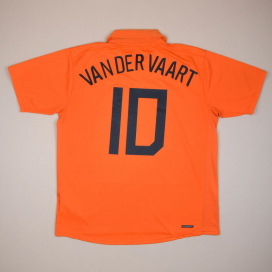 Holland 2006 - 2008 Home Shirt #10 van der Vaart (Very good) XL