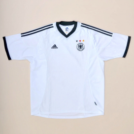 Germany 2002 - 2004 Home Shirt (Excellent) XL