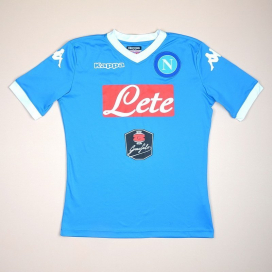 Napoli 2015 - 2016 Home Shirt (Very good) YL