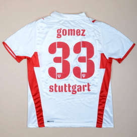 Stuttgart 2008 - 2009 'Signed' Home Shirt #33 Gomez (Very good) L