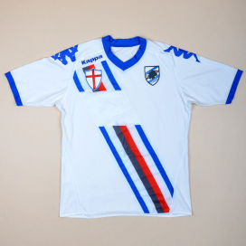 Sampdoria 2010 - 2011 Away Shirt (Good) XL