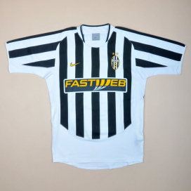 Juventus 2003 - 2004 Home Shirt (Very good) S