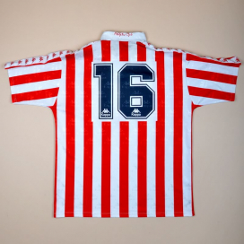 Athletic Bilbao 1992 - 1993 Match Issue Home Shirt #16 (Very good) L