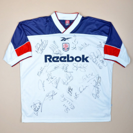 Bolton 1999 - 2001 'Signed' Home Shirt #15 (Very good) XL
