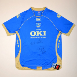 """Portsmouth 2008 - 2009 """"BNWT' Signed by Glen Johnson Home Shirt (New with tags) XL"""