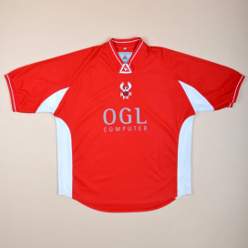 Kidderminster Harriers 2001 - 2003 Home Shirt (Good) L