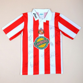 Sunderland 1997 - 1999 'Signed' Home Shirt (Good) S