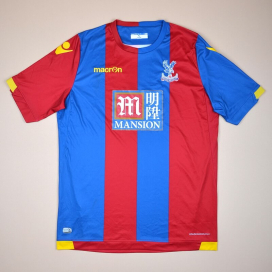 Crystal Palace 2015 - 2016 Home Shirt (Very good) XXL