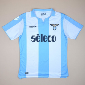 Lazio 2017 - 2018 Away Shirt (Very good) XL