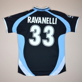 Lazio 1999 - 2000 Away Shirt #33 Ravanelli (Very good) XL