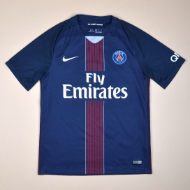 Paris Saint-Germain 2016 - 2017 Home Shirt (Excellent) M