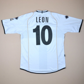 Parma 2008 - 2009 Match Issue 'Limited Edition' Home Shirt #10 Leon (Very good) XL