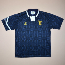 Scotland 1991 - 1993 Home Shirt (Very good) S