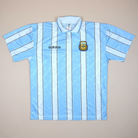 Argentina 1994 - 1996 Home Shirt (Very good) L