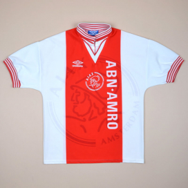 Ajax 1995 - 1996 Home Shirt (Very good) S
