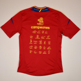 Spain 2011 - 2012 'Signed' Home Shirt (Very good) S