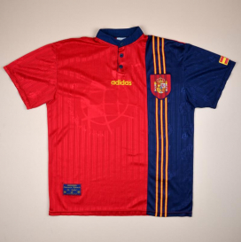 Spain 1996 - 1998 Home Shirt (Very good) XL
