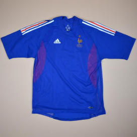 France 2002 - 2004 Player Issue Home Shirt (Excellent) L