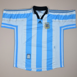 Argentina 1998 - 1999 Home Shirt (Very good) L