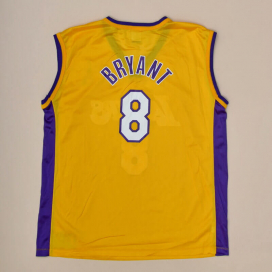Los Angeles Lakers NBA Basketball Shirt #8 Bryant (Excellent) XL