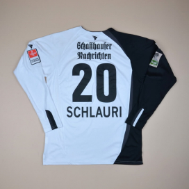 Schaffhausen 2009 - 2010 Match Issue Away Shirt #20 Schlauri (Excellent) M/L