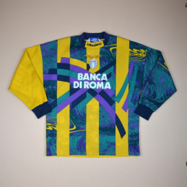 Lazio 1995 - 1996 Goalkeeper Shirt (Good) M