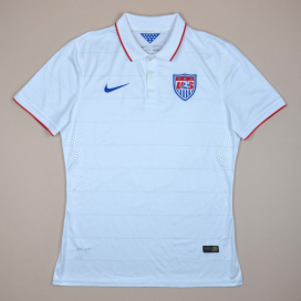 USA 2014 - 2015 Player Issue Home Shirt (Very good) L
