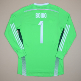 Ukraine 2014 - 2015 Match Issue Goalkeeper Shirt #1 Boiko (Excellent) L