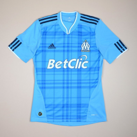 Olympique Marseille 2010 - 2011 Away Shirt (Very good) S