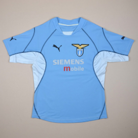 Lazio 2001 - 2002 Home Shirt (Very good) S