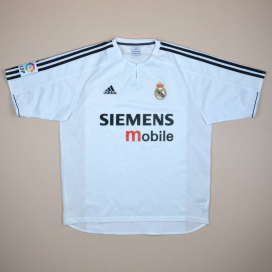 Real Madrid 2003 - 2004 Home Shirt (Very good) L