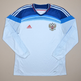 Russia 2014 - 2015 Player Issue AdiZero Away Shirt (Very good) 9 (L/XL)