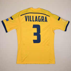 Metalist Kharkiv 2014 - 2015 Match Issue Europa League Home Shirt #3 Villagra (Excellent) M