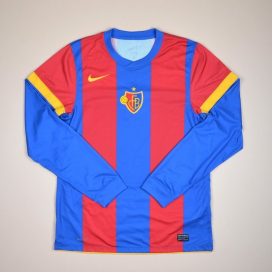 FC Basel 2010 - 2012 Player Issue Home Shirt (Very good) L
