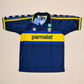 Parma 1999 - 2000 'BNWT' Away Shirt (New with tags) XL
