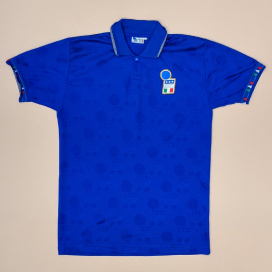 Italy 1992 - 1993 Player Issue Home Shirt (Not bad) M