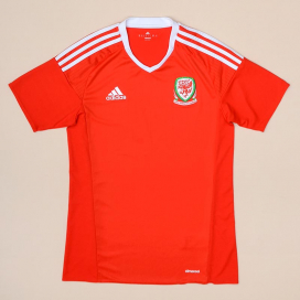 Wales 2016 - 2017 Home Shirt (Very good) S