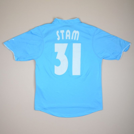 Lazio 2002 - 2003 Match Issue Home Shirt #31 Stam (Very good) L