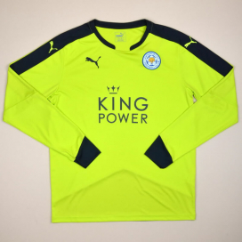Leicester 2015 - 2016 'BNWT' Goalkeeper Shirt (New with tags) L