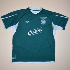 Celtic 2004 - 2005 'Champions' Away Shirt (Very good) XL
