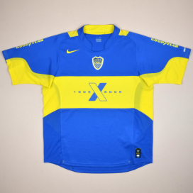 Boca Juniors 2005 Centenary Home Shirt (Very good) L