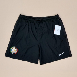 Inter Milan 2009 - 2010 'BNWT' Player Issue Home Shorts (New with tags) YXL
