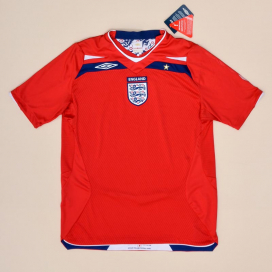 England 2008 - 2010 'BNWT' Away Shirt (New with tags) M